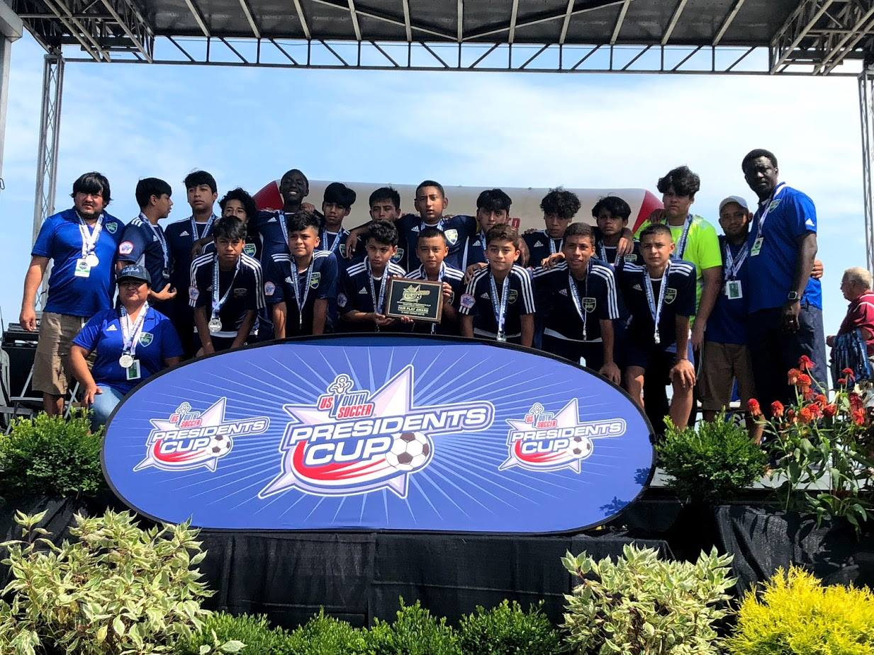 ASA PGSA Breal Barza '04 2018 National Presidents Cup Finalists