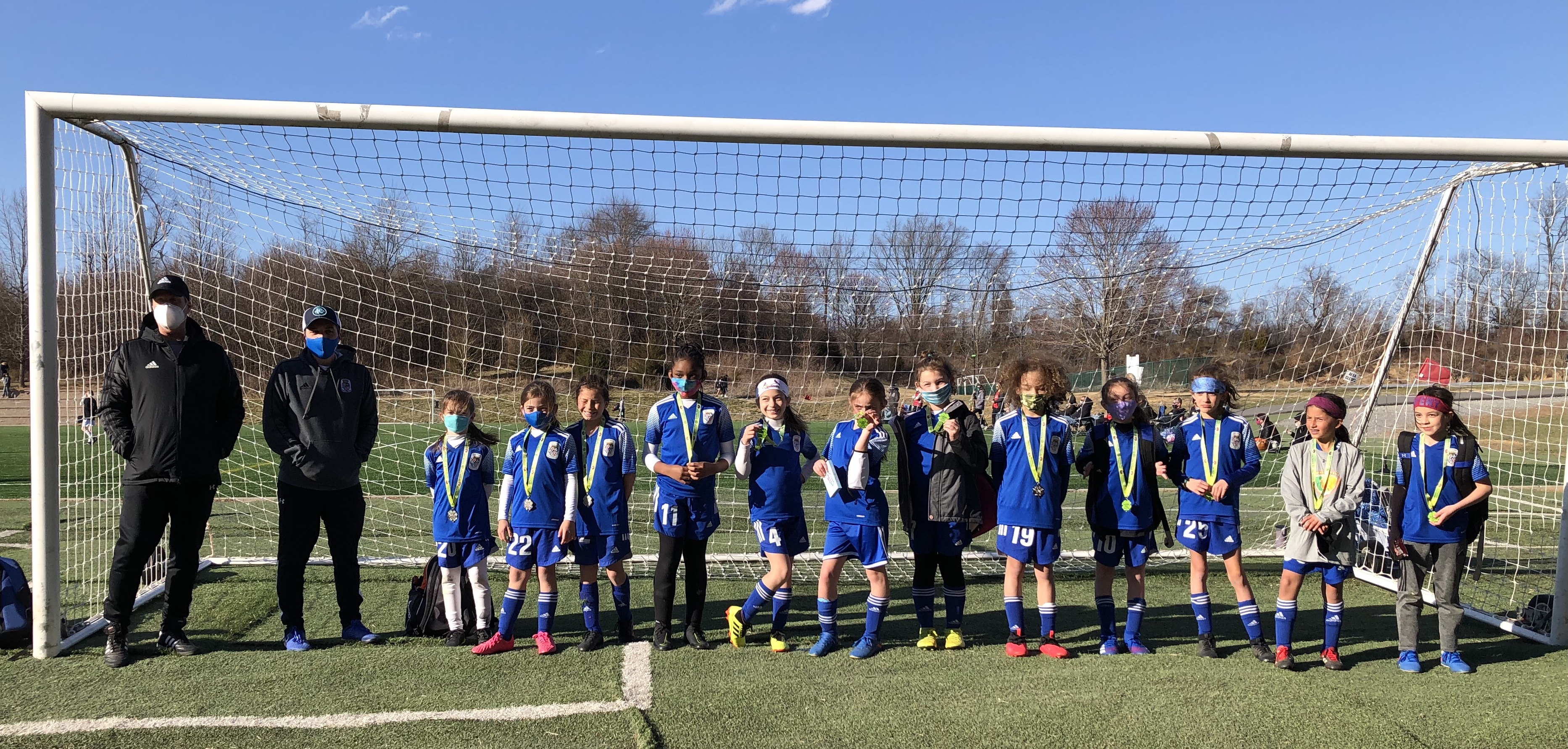 ASA Royal Blues Reach Finals in Amanda Post Soccer Tournament