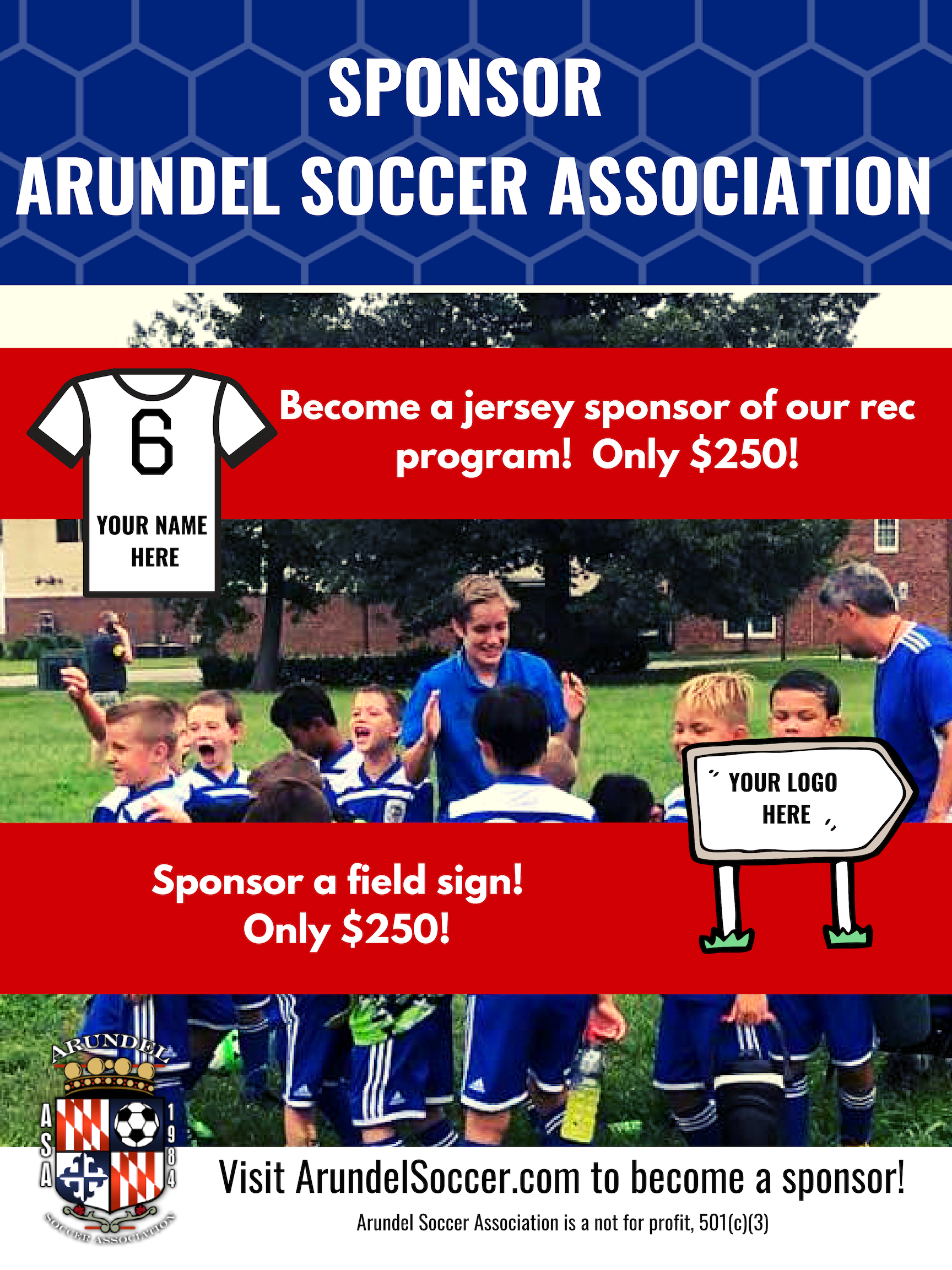 Become a Sponsor of ASA!
